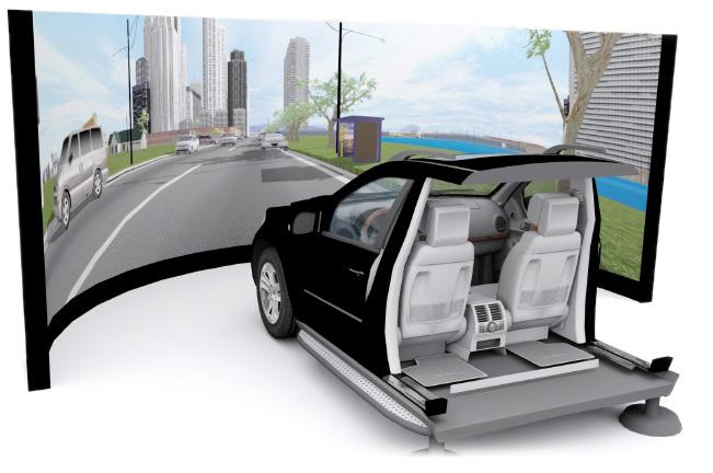 Passenger Car Driving Simulator