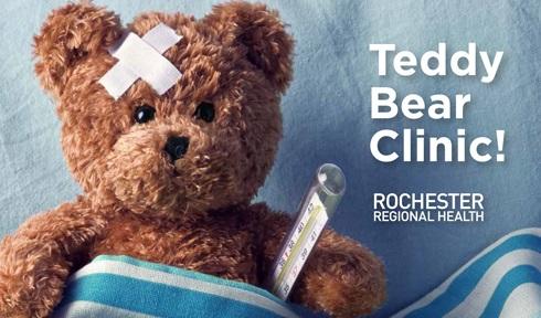 Rochester Regional Health...Teddy Bear Clinic!