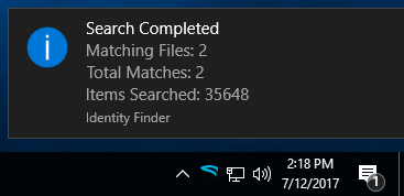 Windows Spirion End User Documentation   Information