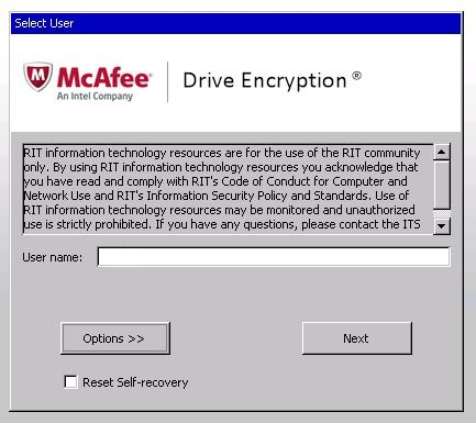 Full Disk Encryption | Information & Technology Services