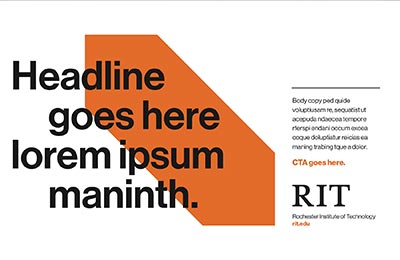 Half page ad example