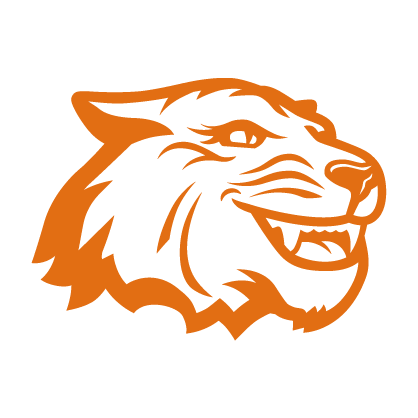 Orange and white Tiger spirit mark