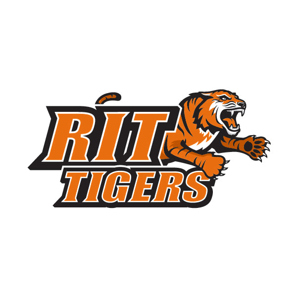 RIT athletics primary logo