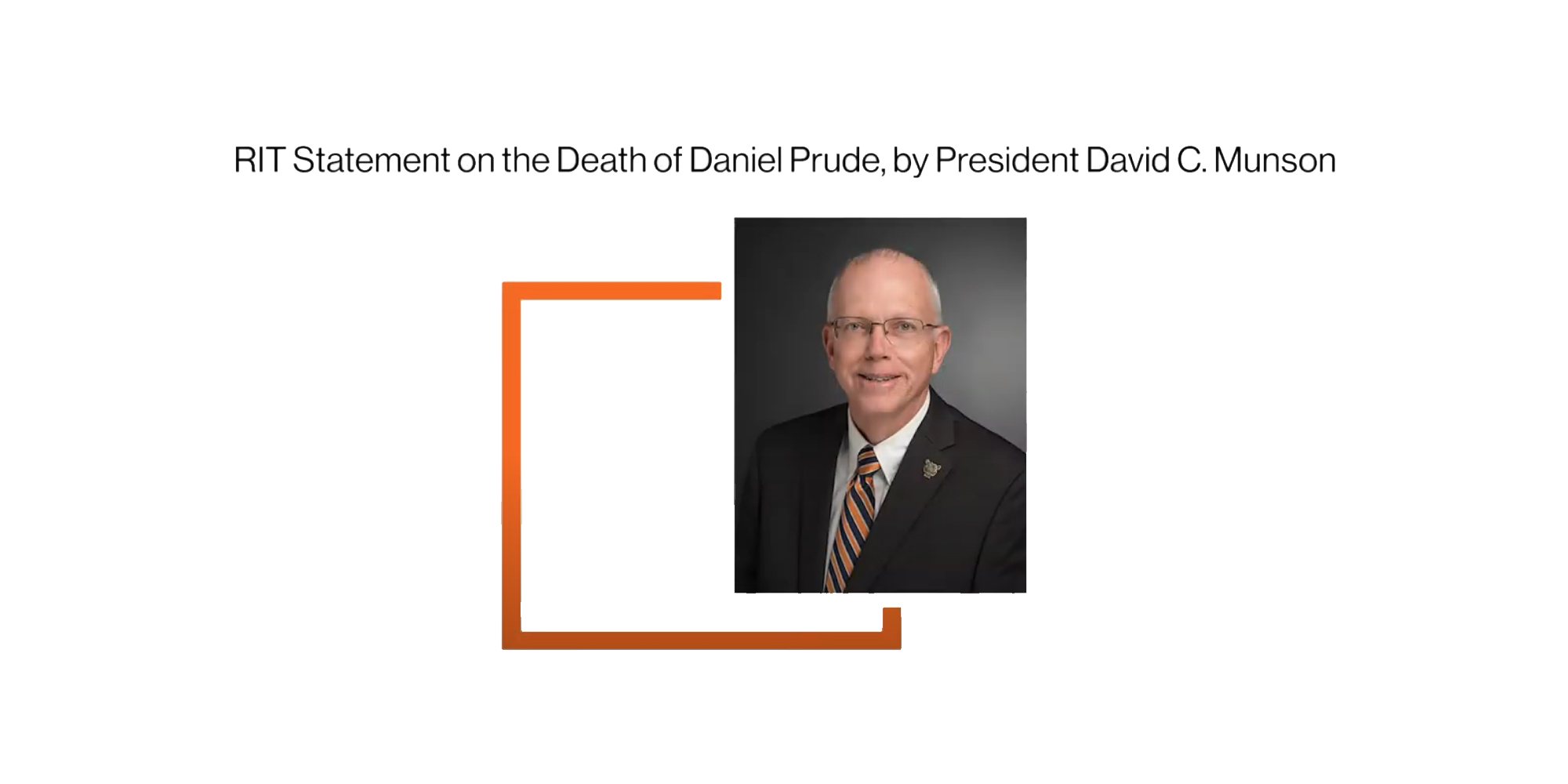 RIT Statement on the death of Daniel Prude