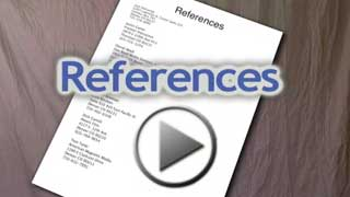 Video about references