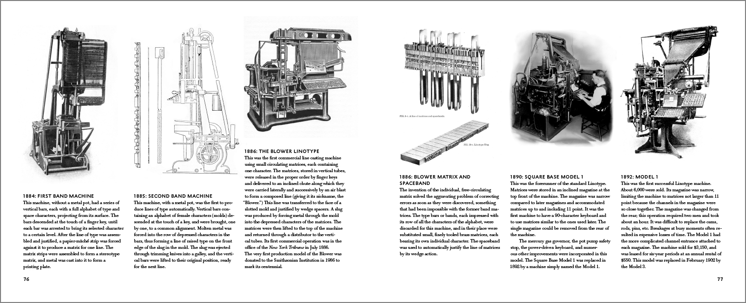 History of the Linotype Company (Softcover) | RIT Press | RIT