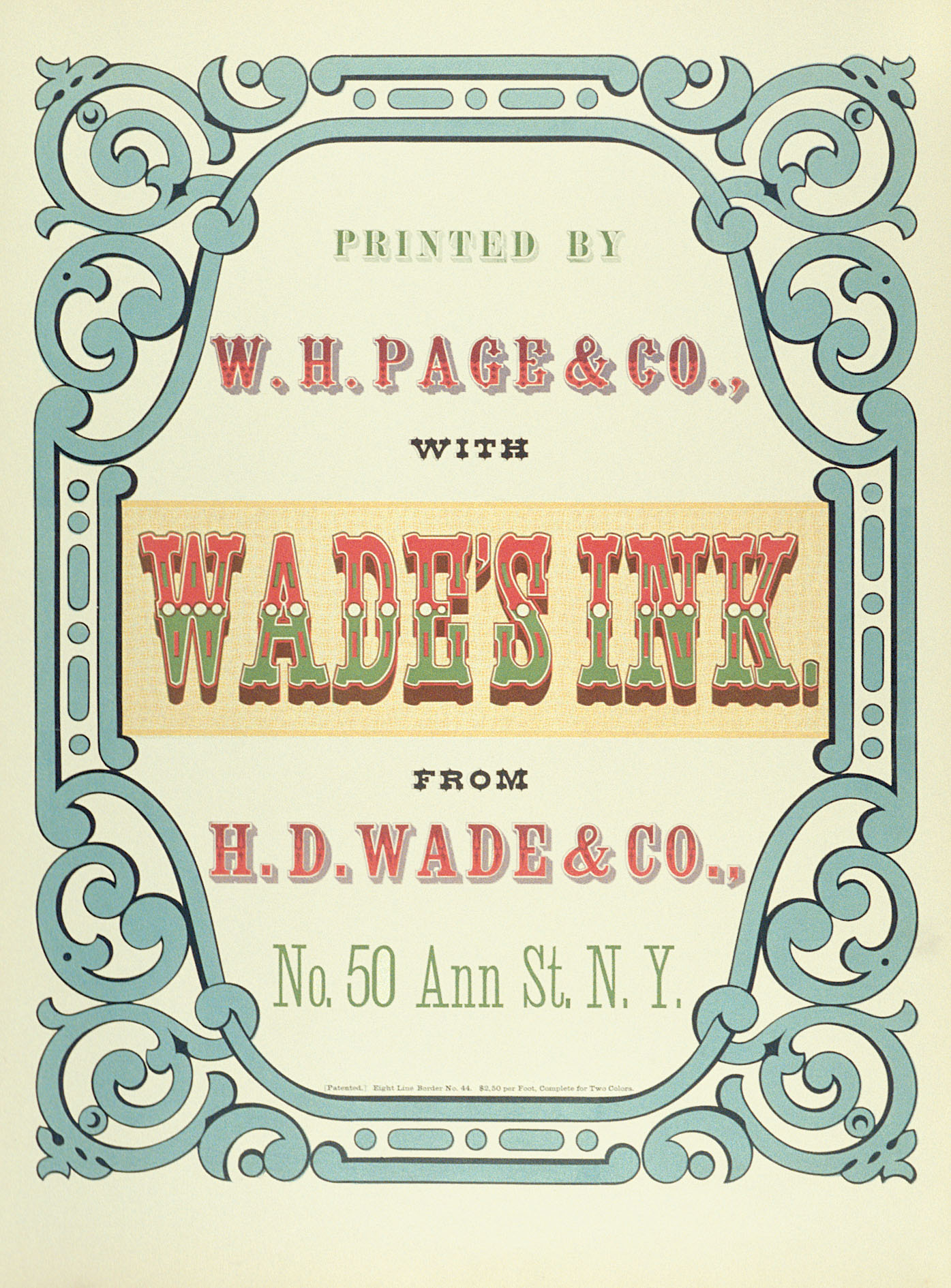 Greeting cards wh page wood type rit press rit greeting cards wh page wood type m4hsunfo