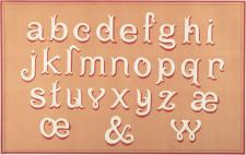 Greeting Cards: French Painted Alphabets
