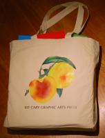 Tote Bag: Peaches