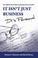 It Isn't Just Business, It's Personal