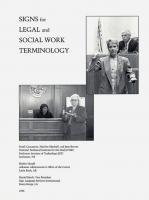 Technical Signs for Law & Social Work
