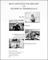 Technical Terminology for Career Education/Communication/English