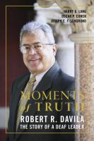 Moments of Truth, Hardcover