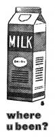 Letterpress Stationery, Milk Carton