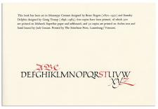 Calligraphic Salutations: Hermann Zapf's Letterheadings to Paul Standard