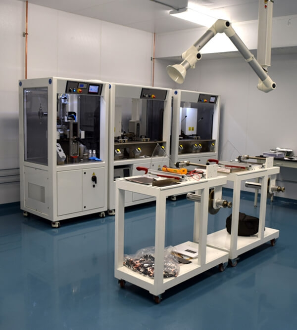 Equipment in the RIT Battery Prototyping Center