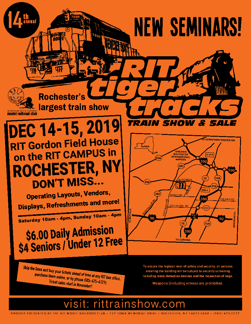 2019 Tiger Tracks Flyer
