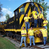 Club Members around RGVRRM Locomotive