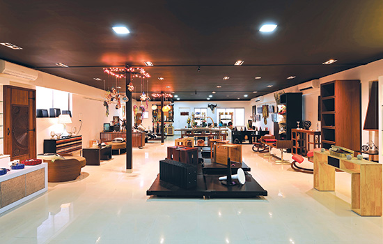 Designer opens furniture store in india rit news for Trendy furniture shops