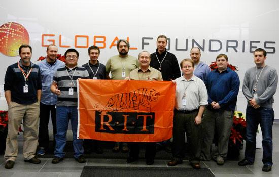 A Tiger habitat at GlobalFoundries - RIT News