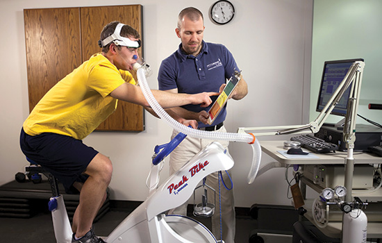 Lab helps to fit fitness into a sedentary society - RIT News ...