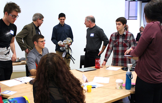 IdeaLab@RIT and RRHS partner in a team effort to solve healthcare issues