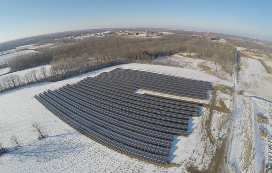 Solar Panels to Power RIT Campus and Six Flags Amusement Park