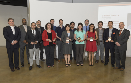 Researchers honored by Rochester Institute of Technology