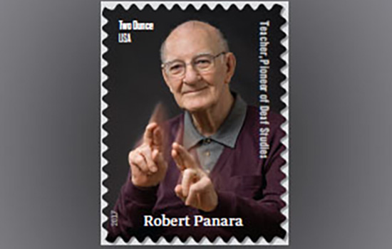 RIT NTID Founding Faculty Member Robert Panara To Be Immortalized On Postage Stamp