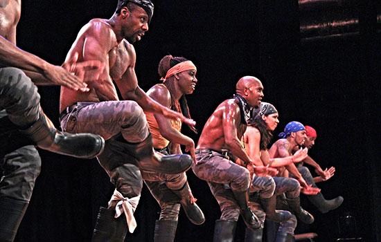 University hosts Step Afrika! as part of Black History Month celebrations