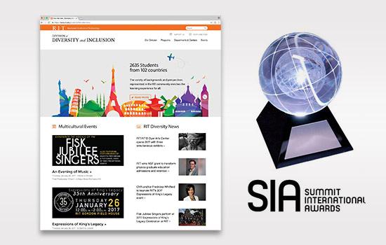 RIT's Diversity website wins Summit Emerging Media Award