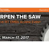 Saunders College of Business hosts Sharpen the Saw alumni event March 17