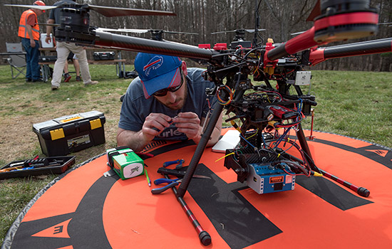 Indiana Drones: Unmanned aerial vehicle gives archeologist a cool