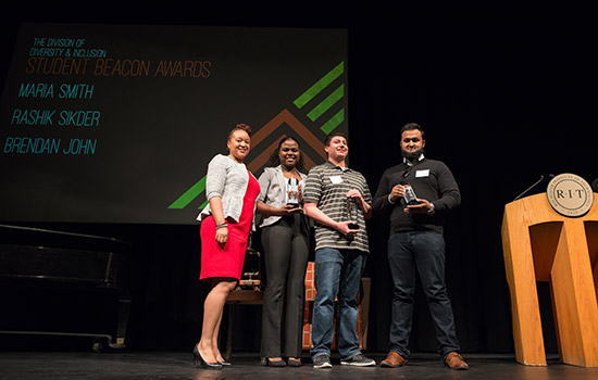 Outstanding students, faculty and alumni recognized at Division of Diversity and Inclusion's Celebration of Excellence