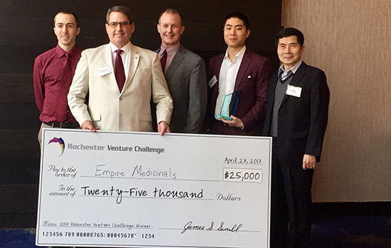 RIT Venture Creations teams win big at Rochester Venture Challenge competition
