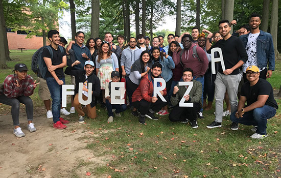 President of the Latin American Student Association helps maintain positive environment for Hispanic students
