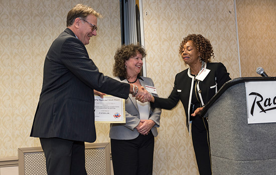 GCCIS Director of Operations Kim Shearer wins RIT's Changing Hearts and Minds Award