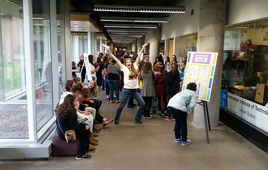 Women in Engineering at RIT hosts open house for teens, parents and teachers/guidance counselors