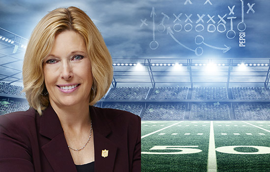 NFL's Dawn Hudson headlines Saunders College Gasser lecture series Oct. 13