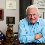 Saunders College 10th anniversary tribute to benefactor E. Philip Saunders on Oct. 11