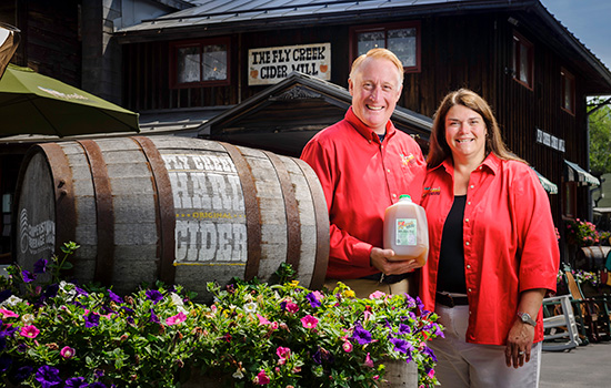 Couple turns cider mill into destination