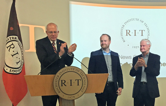 Alumnus gives RIT $50 million to foster entrepreneurship and cybersecurity