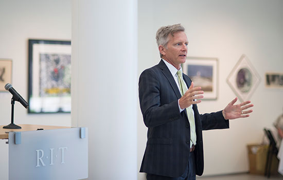 RIT provost stepping down for a new opportunity