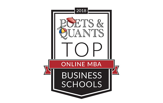Saunders College of Business Online Executive MBA program named in 2018 Poets&Quants ranking