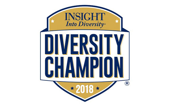 RIT earns national recognition as 'Diversity Champion' by 'INSIGHT Into Diversity'