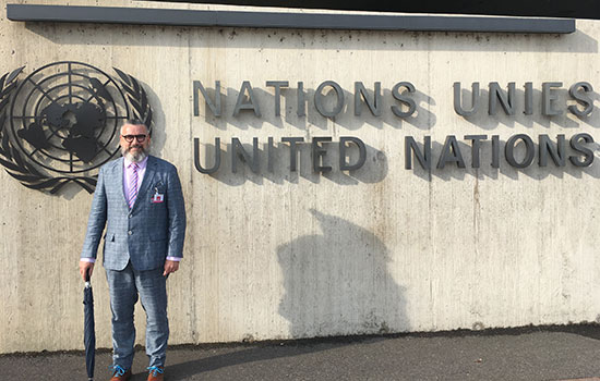 RIT/NTID professor addresses United Nations on rights of persons with disabilities