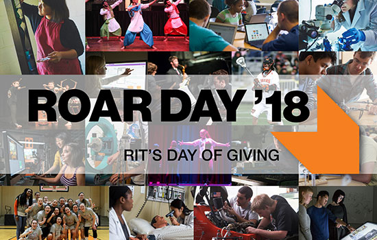 ROAR Day contributes to Transforming RIT: Campaign for Greatness