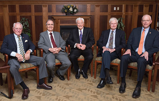 Four RIT presidents reflect on decades of innovative changes