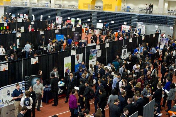 RIT students prepare for largest University-Wide Career Fair