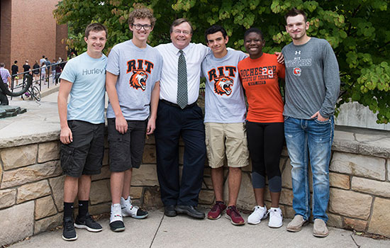 RIT/NTID honors inaugural group of Maguire Scholars